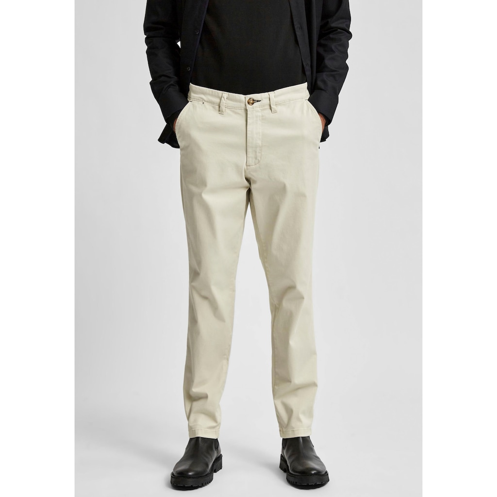 SELECTED HOMME Chinohose »SLIM-MILES FLEX CHINO PANTS«
