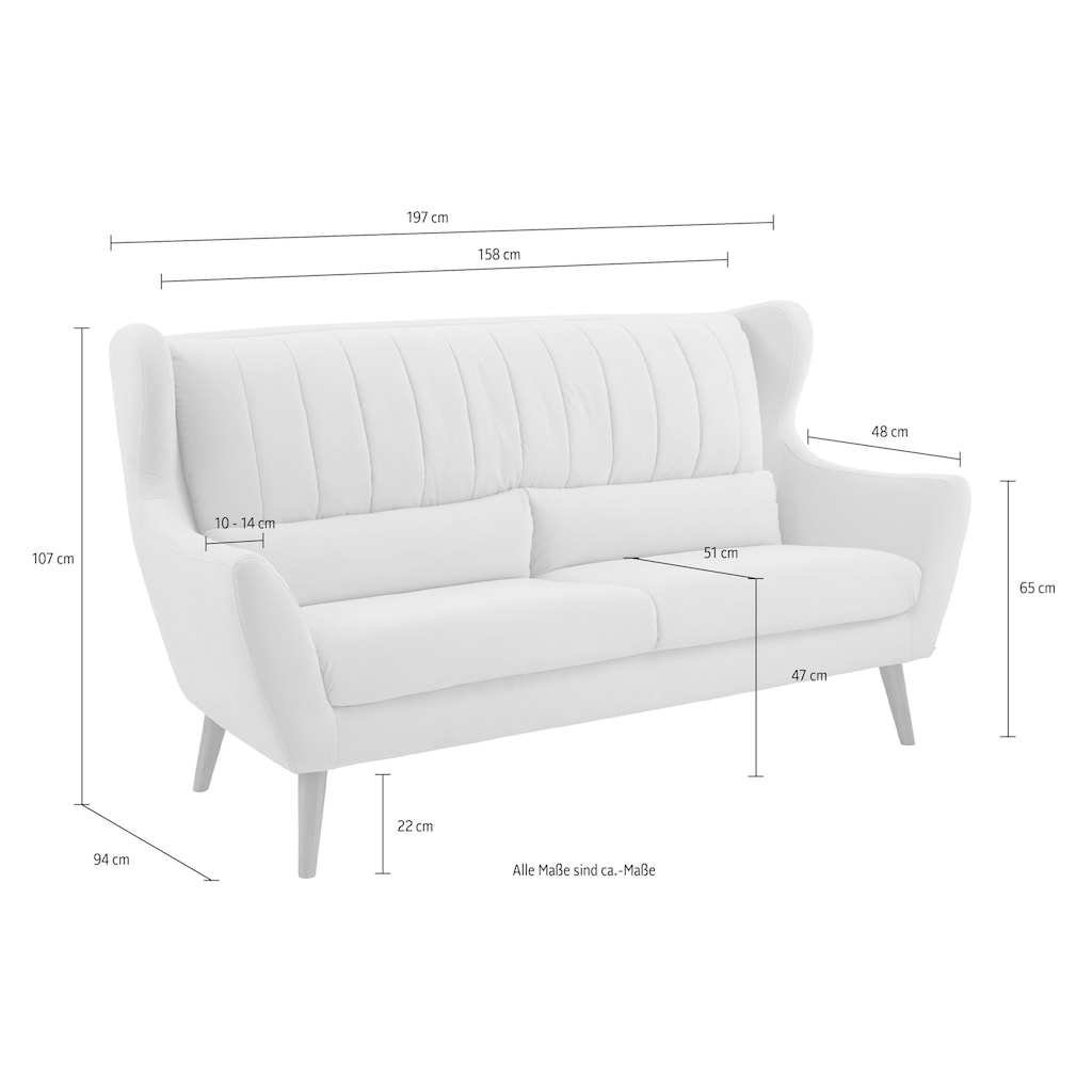 Guido Maria Kretschmer Home&Living 3-Sitzer »Trift«