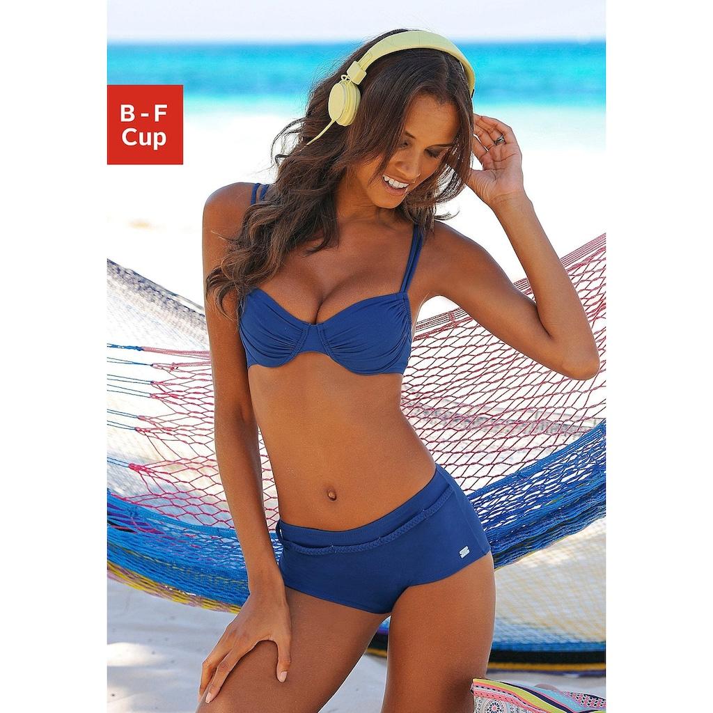 Buffalo Bügel-Bikini-Top »Happy«, seitlich zu raffen