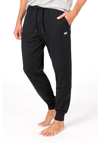 SUPER.NATURAL Jogginghose »M ESSENTIAL CUFFED PANTS«, bequemer Merino-Materialmix kaufen