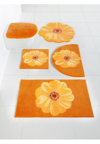 Badgarnitur mit Blüten - Design kaufen