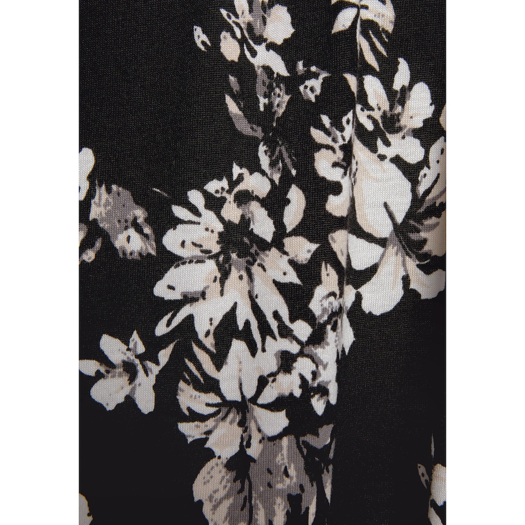 LASCANA Maxikleid, mit Blumenprint