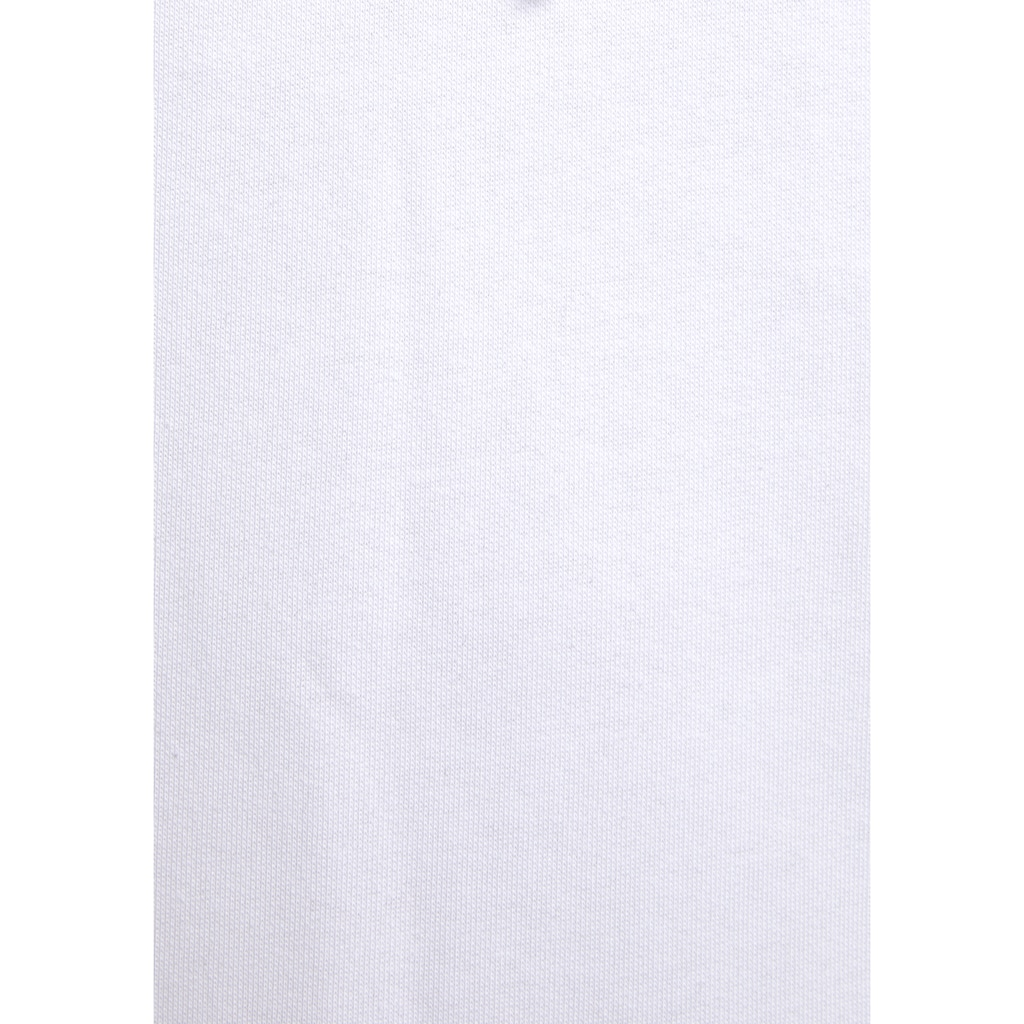 Bench. Sweatkleid, mit Blumenprint auf der Schulter