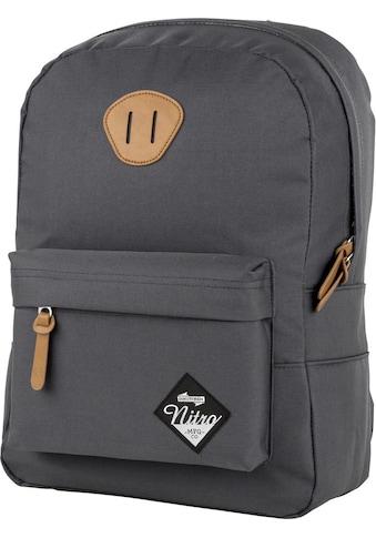 NITRO Freizeitrucksack »Urban Classic, Pirate Black«, mit Laptopfach kaufen