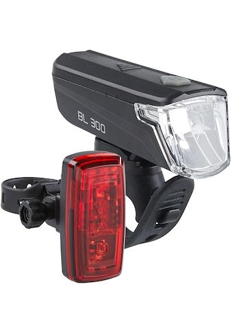 Büchel Fahrradbeleuchtung »BL 300 + Vertiko«, (Set, 9, Front- und Rücklicht) kaufen