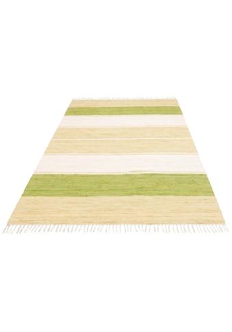 andas Teppich »Melina«, rechteckig, 5 mm Höhe, handgewebt, waschbar bei 30 Grad, Wohnzimmer kaufen