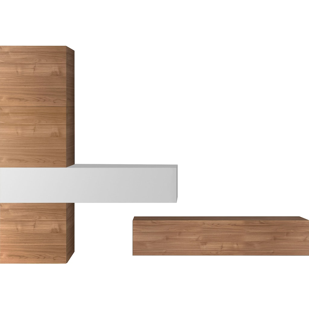 LC Wohnwand »Infinity«, (Set, 5 tlg.)