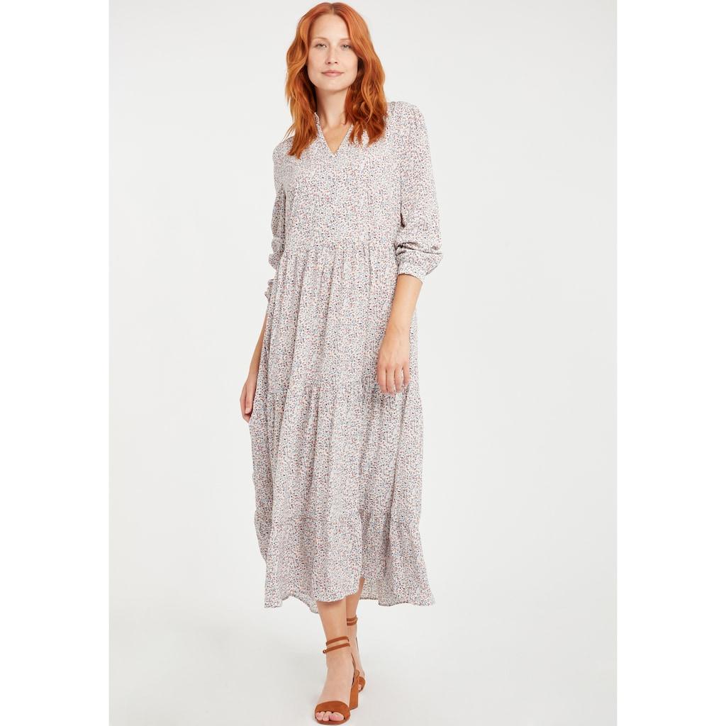 b.young Blusenkleid »BYITALLA«, Luftiges Kleid mit langen Ärmeln