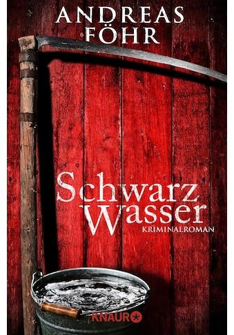 Buch »Schwarzwasser / Andreas Föhr« kaufen