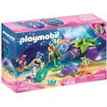 Playmobil® Konstruktions-Spielset »Perlensammler mit Rochen (70099), Magic«, (32 St.), Made in Germany
