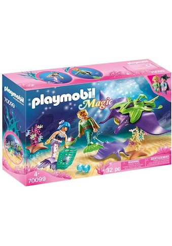 Playmobil® Konstruktions-Spielset »Perlensammler mit Rochen (70099), Magic«, Made in Germany kaufen