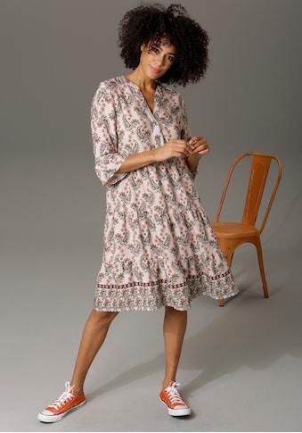 Aniston CASUAL Tunikakleid, mit verspielten Paisley-Druck - NEUE KOLLEKTION kaufen