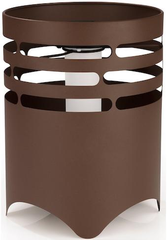 MAXXMEE LED Gartenleuchte »Solar-Feuerstelle«, 1 St., Warmweiß, MAXXMEE, Flammeneffekt, Rost-Optik kaufen