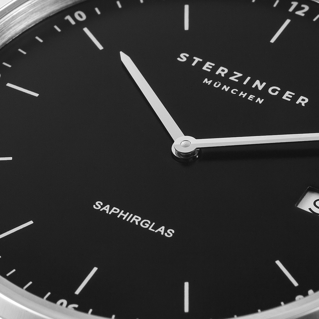 Sterzinger Quarzuhr »SM008«, (1 tlg.), mit Saphirglas