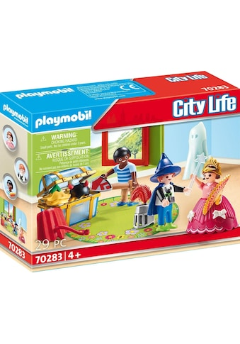Playmobil® Konstruktions-Spielset »Kinder mit Verkleidungskiste (70283), City Life«, ; Made in Germany kaufen