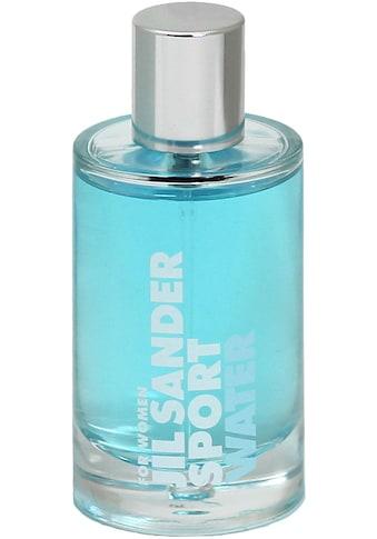 JIL SANDER Eau de Toilette »Sport Water Woman« kaufen