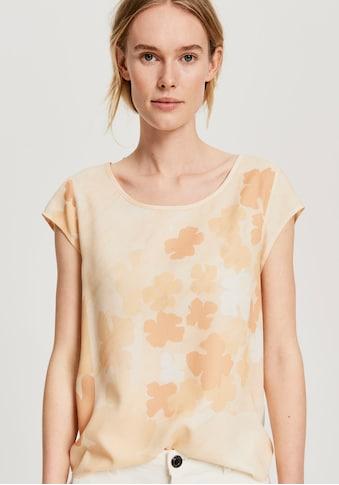 OPUS Shirtbluse »Flinka faded«, mit Knopfleiste hinten kaufen