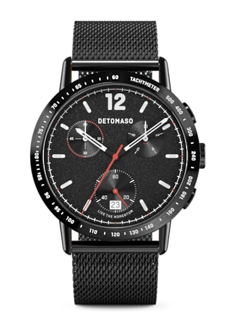 DETOMASO Chronograph »ADESSO QUARZUHR LIMITED EDITION BLACK« kaufen