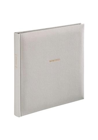 """Hama Fotoalbum »Foto-Album«, """"Memories"""", 25x25 cm, 50 schwarze Seiten kaufen"""