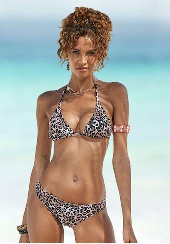 LASCANA Bikini-Hose »Lexa«, in knapper Form und mit Muschelkante kaufen