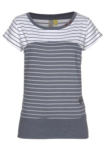 Alife & Kickin T-Shirt »CosmaAK«, angesagtes Kurzarmshirt im trendy Streifen-Mix kaufen