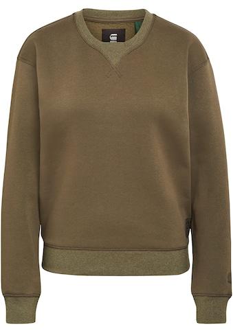 G-Star RAW Sweatshirt »Premium Core Sweatshirt«, mit gerippten Rundhalsausschnitt und... kaufen