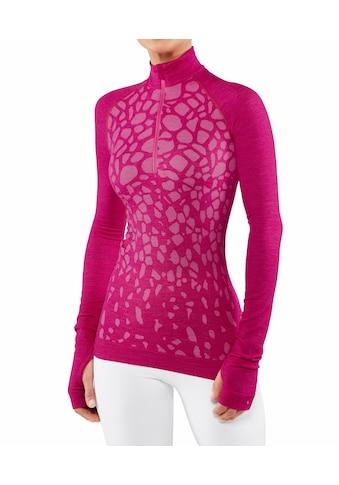 FALKE Langarmshirt »Wool-Tech«, aus wärmender Merinowolle kaufen