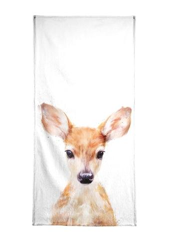 "Handtuch ""Little Deer"", Juniqe kaufen"