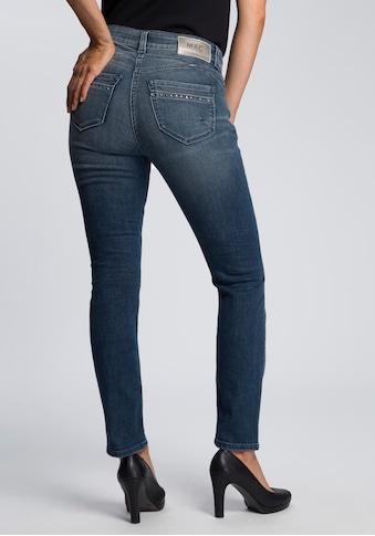 MAC Ankle-Jeans »Rich-Slim«, Aufwendige Nieten-Details vorne und an den Gesäßtaschen kaufen