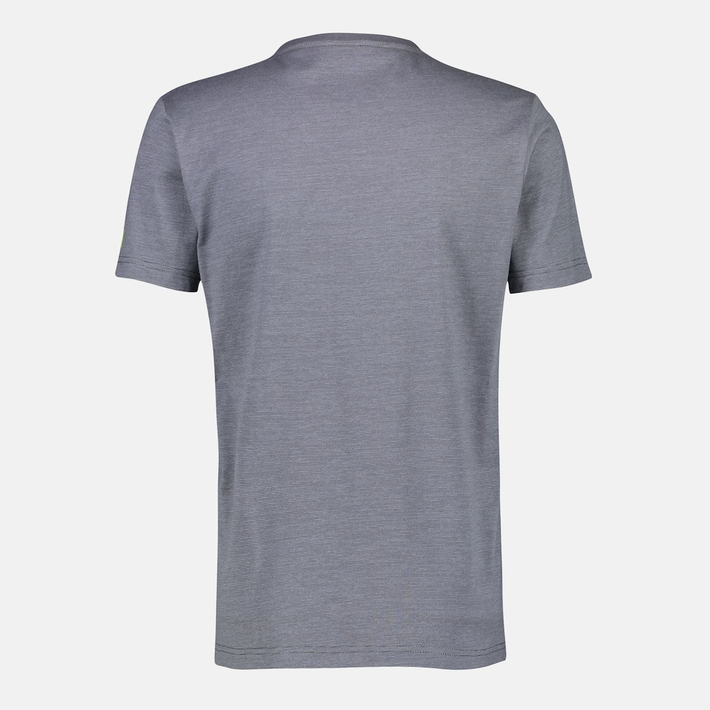 LERROS T-Shirt »Change your view«, mit V-Neck