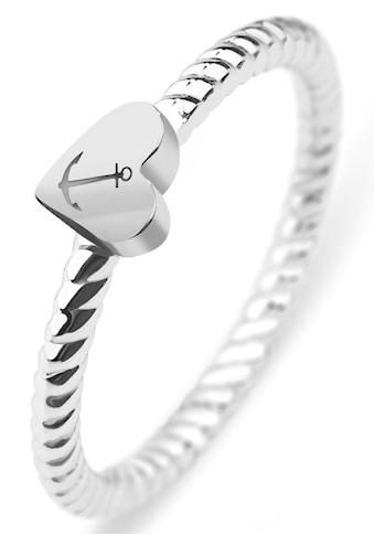 PAUL HEWITT Fingerring »Rope, Herz/Anker, PH-FR-HRO-S-50,52,54,56,58« kaufen