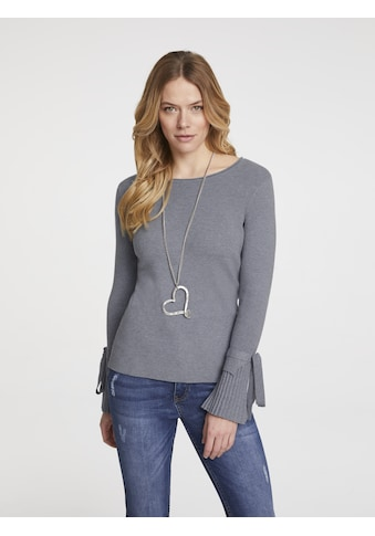 Pullover mit Plissee kaufen