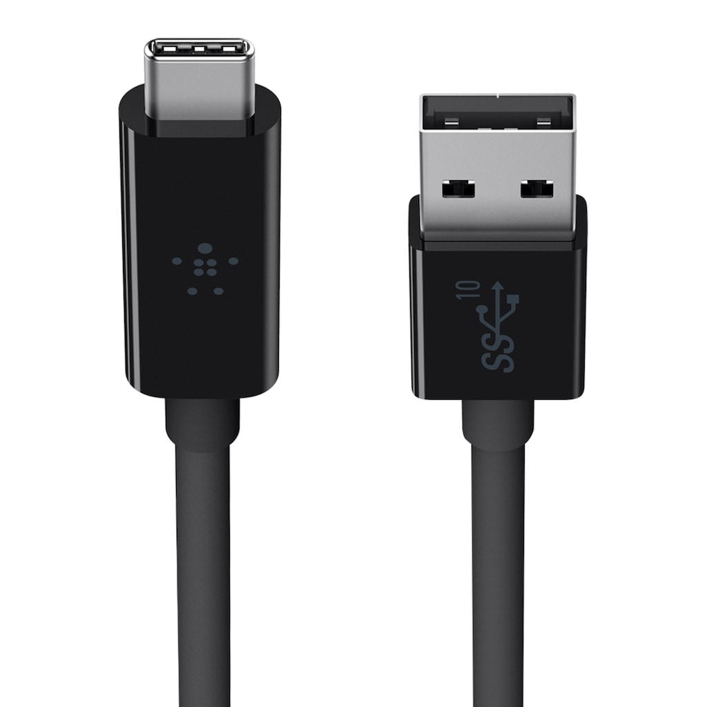 Belkin USB-Kabel »USB 3.1 SuperSpeed+ Kabel, USB-C auf USB-A«, USB Typ A, USB Typ A, 100 cm, Datenkabel