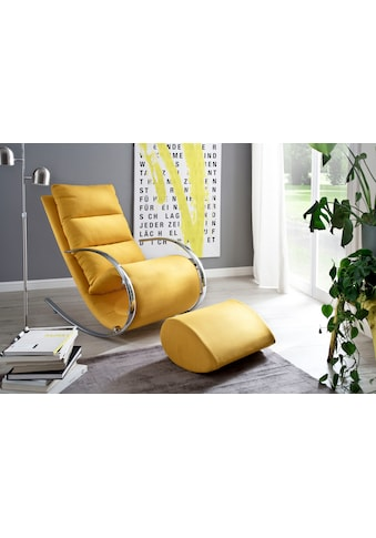 MCA furniture Relaxsessel »York«, Relaxsessel mit Hocker, belastbar bis 100 kg kaufen