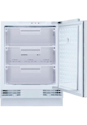SIEMENS Einbaugefrierschrank »GU15DADF0«, iQ500 kaufen