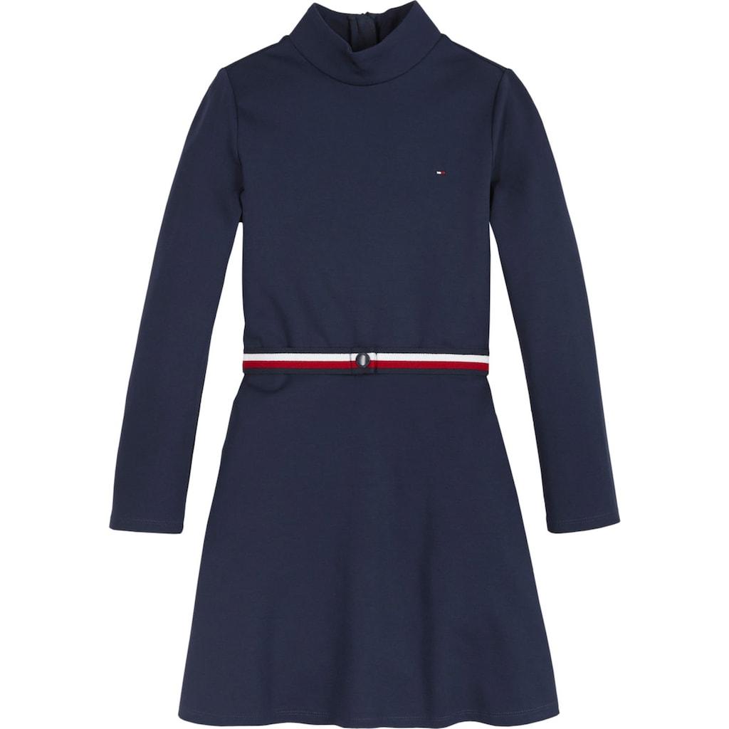 TOMMY HILFIGER A-Linien-Kleid, mit Stehkragen