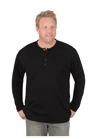 Trigema Langarmshirt, mit Knopfleiste kaufen