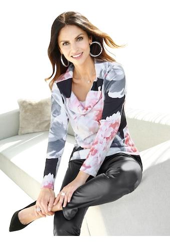 Alessa W. Pullover mit berauschend schönem Blütendessin kaufen