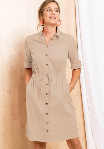 bianca Hemdblusenkleid »DORINE«, im Baumwollmix mit lässigen Eingriffstaschen kaufen
