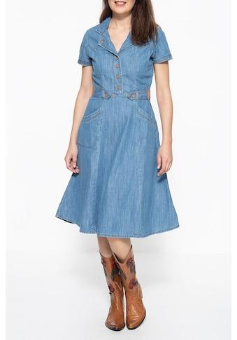 QueenKerosin Hemdblusenkleid, im Westernlook kaufen