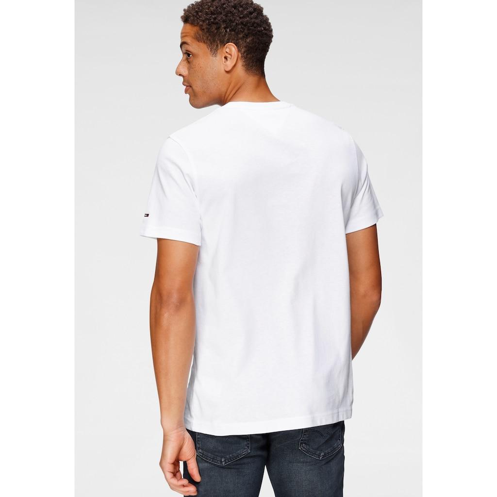 Tommy Jeans T-Shirt »TJM REGULAR CORP LOGO C NECK«