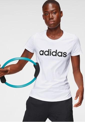 adidas Performance T - Shirt »LINEAR SLIM TEE« kaufen