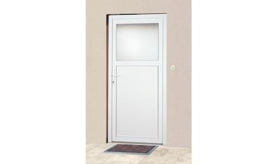 KM Zaun Haustür »K601P«, BxH: 88x188 cm, weiß, in 2 Varianten kaufen