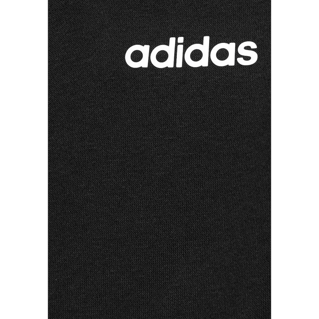 adidas Performance Sweatjacke »ESSENTIALS 3-STREIFEN KAPUZENJACKE«