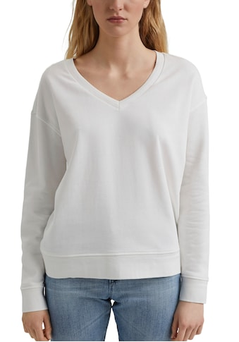 edc by Esprit Sweater, mit tiefem V-Ausschnitt kaufen