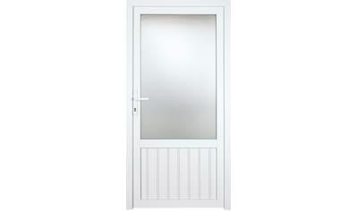 KM Zaun Nebeneingangstür »K607P«, BxH: 108x208 cm cm, weiß, rechts kaufen
