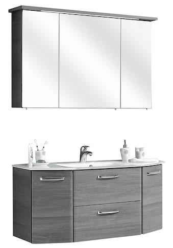 PELIPAL Badmöbel-Set »Alika«, (2 St.), Spiegelschrank inkl. LED-Beleuchtung,... kaufen