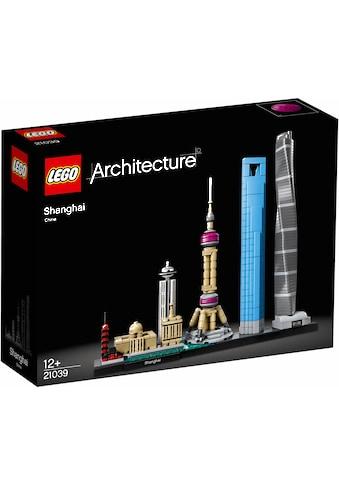 """LEGO® Konstruktionsspielsteine """"Shanghai (21039), LEGO® Architecture"""", Kunststoff, (597 - tlg.) kaufen"""