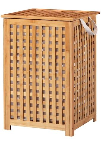 welltime Wäschekorb »Bambus«, 40 cm breit kaufen