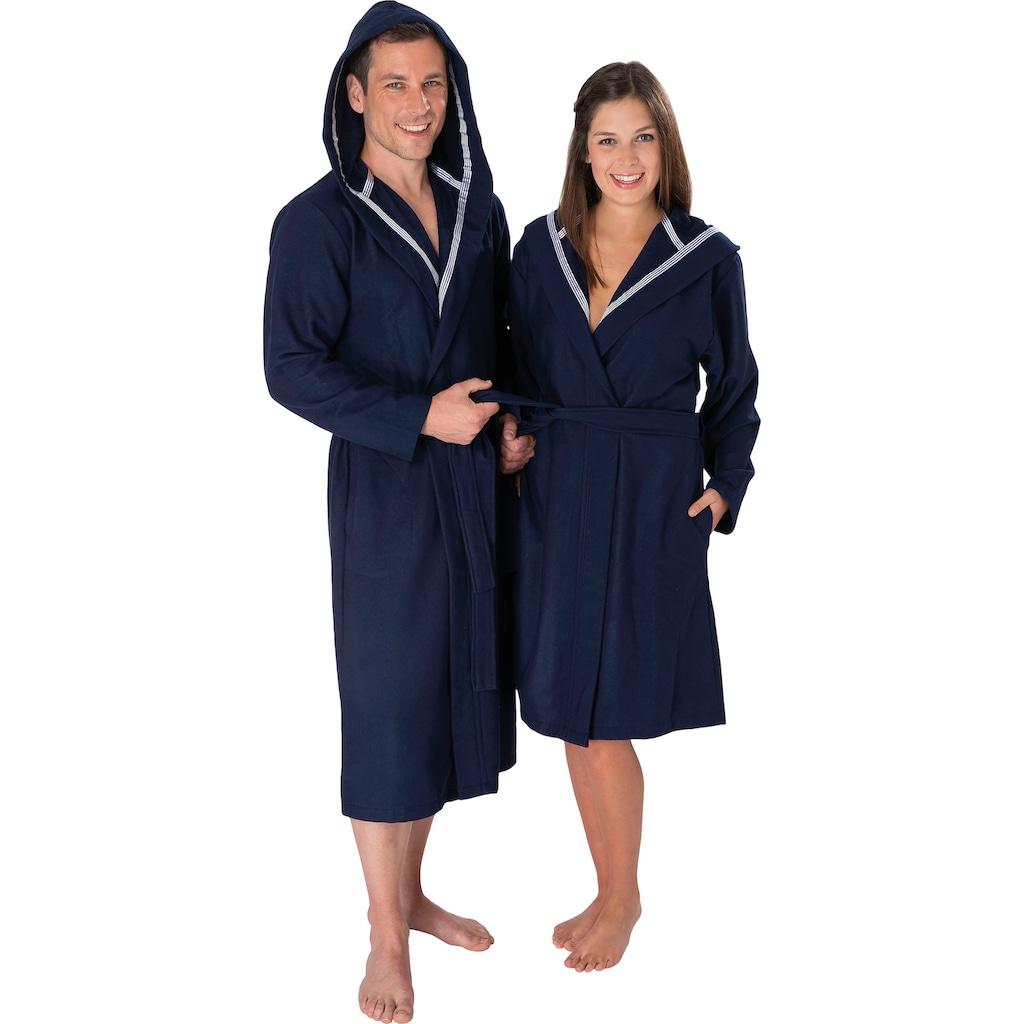 Wewo fashion Unisex-Bademantel »3900«, mit Soft Touch